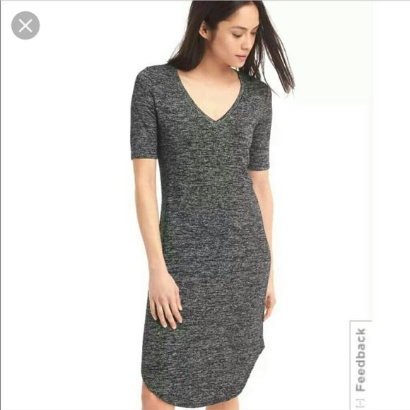 53fd7193e GAP Dresses & Skirts - Gap softspun v neck midi dress